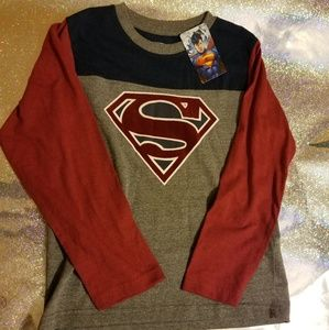 DC Comics long sleeve T-shirt